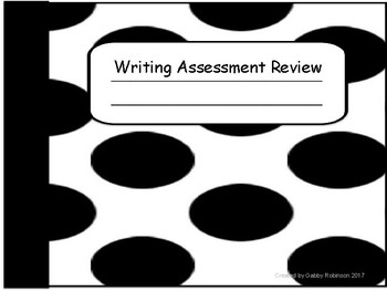 Writing Assessment Review