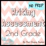 Writing Assessment / Test - 2nd Grade - Paragraph Writing - A Digital Option