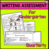 Writing Assessment for Kindergarten