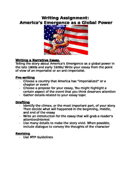 Writing Assignment: America's Emergence as a Global Power