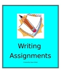 Writing Assignment Bundle