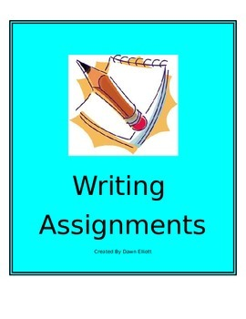 Writing Assignment Bundle