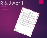 Writing Assignment – Romeo and Juliet Act 1