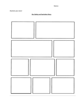 Creative Writing Assignment and Comic Strip: Use with Sanitation Scenarios 1-4