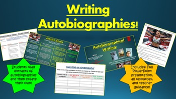 Writing Autobiographies!