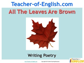 Writing Autumn Poetry