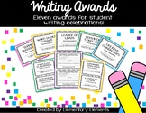 Writing Awards