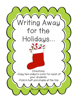 Writing Away for the Holidays Writing Journals