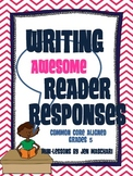 Writing Awesome Reader Responses! (Reader Response Activities for 5th Grade)