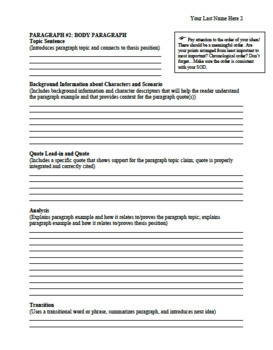 Writing BUNDLE: Brainstorm & Writing Graphic Organizer, Peer Edit,and Checklists