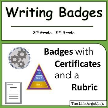 Writing Badges