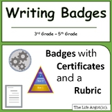 Writing Badges