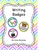 Writing Badges for Gamification