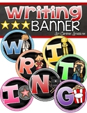 Writing Banner Classroom Decoration Bulletin Board Hollywood Movies Theme