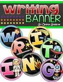 Writing Banner Classroom Decoration Bulletin Board Outer Space Theme