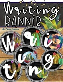 Writing Banner Classroom Decoration Bulletin Board Shiplap and Succulents Theme
