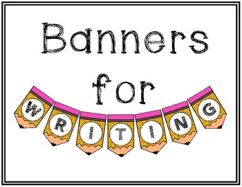 Writing Banners
