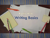 Writing Basics