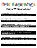 Writing - Beginning, Middle, & End