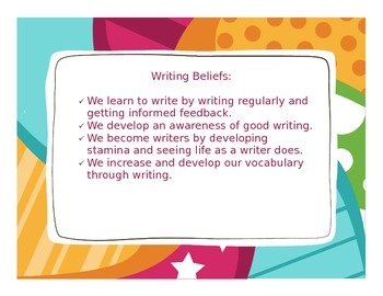 Writing Beliefs