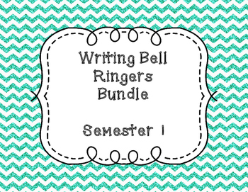 Writing Bell Ringers - Bundle - Semester 1