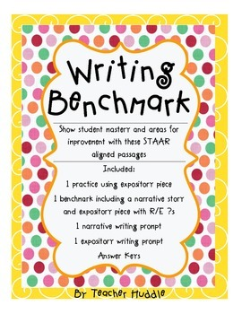 Writing Benchmark - STAAR Aligned