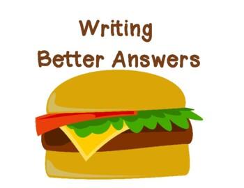 Writing Better Answers