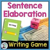 Adding Details to Sentences:  A Writing Game