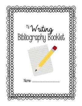 Writing Bibliography Journal