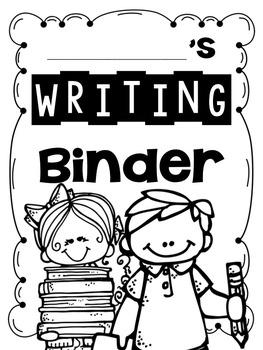Writing Binder FREEBIE