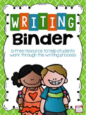 Writing Binder FREEBIE
