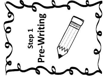 Editable Writing Binder Resources. Writing Process