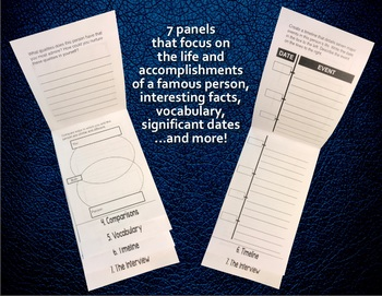 Writing Biographies — The Language Arts Flip Book Series