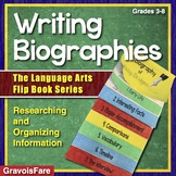 Writing Biographies Activity — The Language Arts Flip Book Series