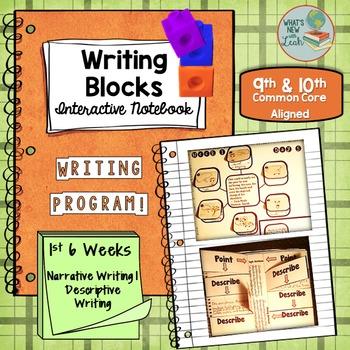 Writing Blocks: 1st 6 Weeks 9th and 10th Grade Writing Program