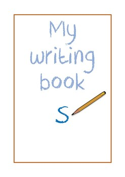 Writing Book- 'S'