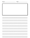 Writing Booklet Template