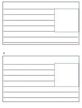 Writing Booklet for Nonfiction Text