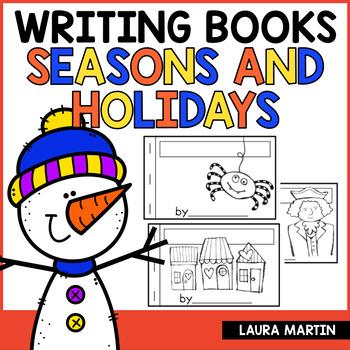 Writing Booklets-Seasons and Holidays