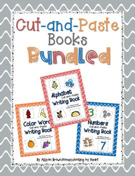 Cut-and-Paste Books Bundle