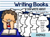 Writing Books- I Can Write About Animals