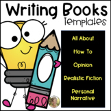 Writing Books Templates First Grade {How To - All About -