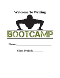 Writing Boot Camp Guided Notes Packet