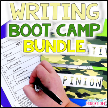 Writing Boot Camp: Opinion and Informative Writing Test Prep!