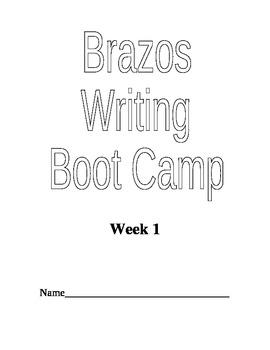 Writing Boot Camp Week 1 Literary Essay
