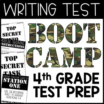 Writing Boot Camp - Writing Test Prep - 4th Grade Writing Boot Camp