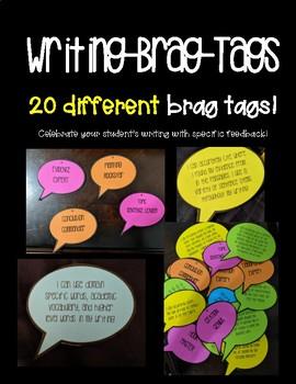 Writing Brag Tags