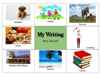 Writing Brainstorm with Google Classroom