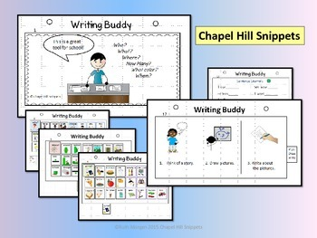 Writing Buddy--Assistive Technology Low Tech Flip Book for