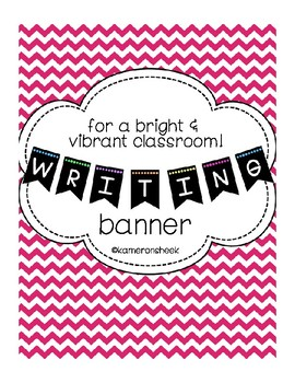 Writing Bulletin Board Banner